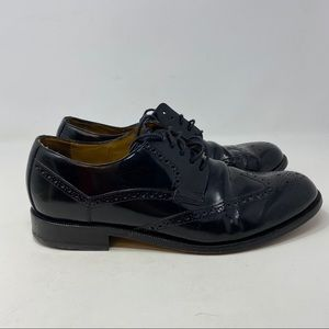 Cole Haan Men's Black Leather Oxfords Size 10 M